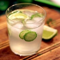 Eastland Cafe's Cucumber Gin Fizz