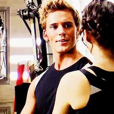 Oh Finnick, you scrumptious hottie you