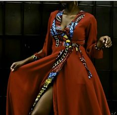 Keep an eye out for our latest African Fashion designs on our website. Latest African Fashion Dresses, African Print Dresses, African Print Fashion, African Dress, Fashion Prints, African Attire, African Wear, African Women, Mode Kimono