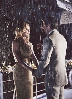 Daniel and Emily. In the RAIN.