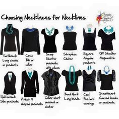 Just to help you pick out the perfect necklace to go with your style
