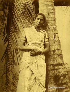 Portrait of a Tamil Woman, Ceylon taken by Colombo Apothecaries Co Rare Photos, Vintage Photographs, Old Photos, Vintage Photos, Asian History, Women In History, History Of Sri Lanka, Le Sri Lanka, Forest People