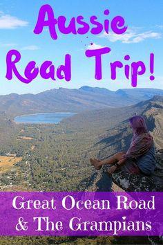Great Ocean Road and The Grampians - FreeYourMindTravel Melbourne To Adelaide, Melbourne Travel, Australia Travel Guide, Australia Trip, Iconic Australia, Travel Essentials, Travel Tips, Australian Road Trip, Adventure Bucket List