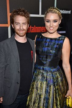 Seth Green and Clare Grant.