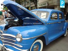Blue Vintage Car 2666 Image picture download screen by Shabyas, $6.00