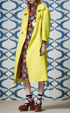 Embellished Cashmere Duster Coat by Marni for Preorder on Moda Operandi