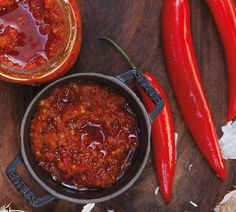 Hundreds of quick and easy recipes created by Annabel and her online community. Chilli Recipes, Jam Recipes, Chef Recipes, Sauce Recipes, Mexican Food Recipes, Cooking Recipes, Chilli Jam, Chilli Paste, Relish Sauce