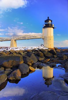 Marshall Point Lighthouse - Port Clyde, Maine. I have not seen this one.