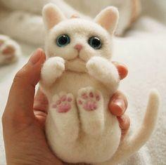 Wool Felt Cat