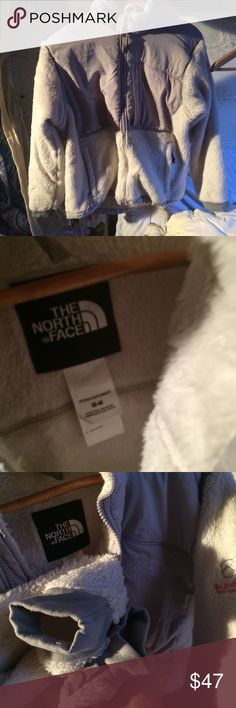 The north face women's medium Grey and dirty white color.  Just selling my friends stuff a lot in box!  Message before buying..  some items  selling online.  Shipping schedule Saturday and Monday.   Thank you The North Face Jackets & Coats