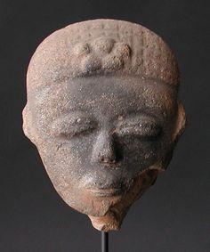 Akan Nsodia (Funerary Portrait Head), Abusa Kuruwa, Ghana