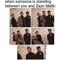 I can't do that without Zayn not being here