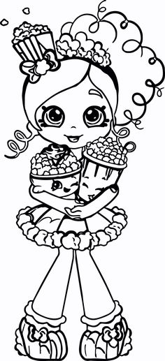 52 Best shopkins colouring pages