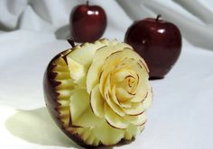 Image result for apple carving