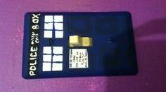 My TARDIS light switch cover :)