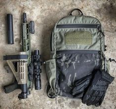 Who would carry this 300 BLKOUT in their backpack? Tactical Truck, Tactical Equipment, Tactical Gear, Edc Backpack, Firearms, Shotguns, Ar Pistol, Battle Rifle, Gun Storage