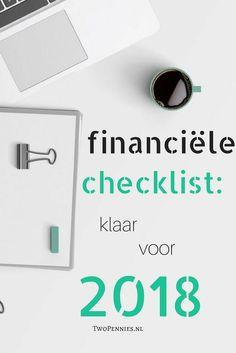 Met deze checklist zijn je financiën voor komend jaar weer helemaal op orde. Zo weet je waar je aan toe bent en waar je volgend jaar op kunt besparen.