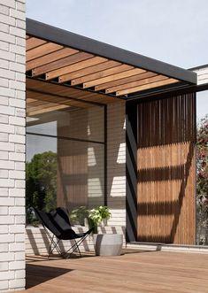 Timber Pergola, Outdoor Pergola, Backyard Patio, Outdoor Spaces, Outdoor Living, Diy Pergola, Pergola Plans, Patio Design, Exterior Design
