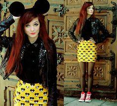 Asymetria: Mickey mouse