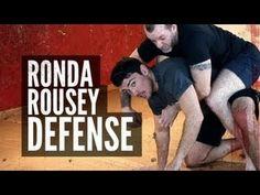 "Ronda Rousey Rear Naked Choke Defense  | Andrew ""Squid"" Montañez | mmasurge.com #mma Martial Arts Techniques, Self Defense Techniques, Bjj Techniques, Jiu Jitsu Videos, Fighting Moves, Martial Arts Equipment, Jiu Jitsu Training, Self Defense Moves, Cardio Kickboxing"
