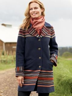 Pendleton wool ARROYO COAT