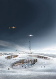 CGarchitect - Professional 3D Architectural Visualization User Community | Concept for Andorra Ski Resort - 2016