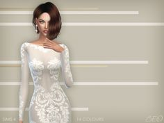 ANVEAY DRESS at BEO Creations via Sims 4 Updates