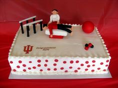 Katie's Grad Cake - A new physical therapist's grad cake!  Inspired by Kmliz.  Thanks!