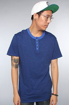 The Reed Tee in Blue