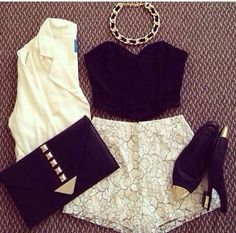 Night out, outfit