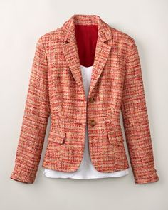 Bright Boucle' Jacket  Coldwater Creek  $129.95