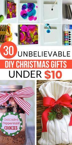 30 Diy Christmas Gifts, Christmas Gifts For Teen Girls, Gifts For Teens, Christmas Fun, Holiday Gifts, Christmas Presents, Homemade Gifts, Diy Gifts, Employee Gifts