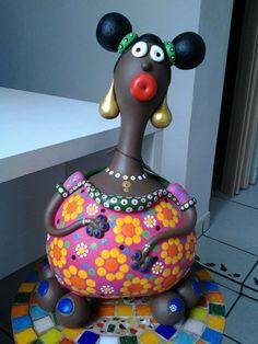 Boneca em Cabaça