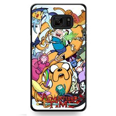 Adventure Time Characters TATUM-324 Samsung Phonecase Cover For Samsung Galaxy Note 7