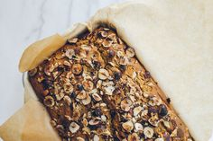 Homemade Nutella Swirled Pumpkin Bread w/ Hazelnuts // You're going to want to try this.