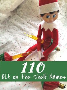 Elf on the Shelf Names. 110 Elf on the Shelf Names! Girl Elf on the Shelf names . : Elf on the Shelf Names. 110 Elf on the Shelf Names! Girl Elf on the Shelf names and boy elf on the shelf names to help make naming your elf on the shelf easier! Girl Elf Names, Cute Girl Names, Elf On Shelf Names, Elf On The Shelf, Funny Christmas Sweaters, Diy Hanging Shelves, Christmas Preparation, Christmas Activities, The Elf