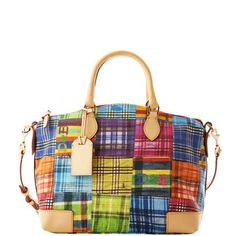 Dooney and Bourke.  I love purses that go with everything!!