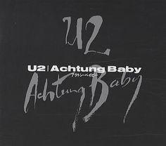 U2,Achtung Baby,Japan,Deleted,CD ALBUM,9961 U2 Achtung Baby, Track Pictures, Cd Album, Booklet, Lyrics, Japanese, Japanese Language, Song Lyrics, Music Lyrics