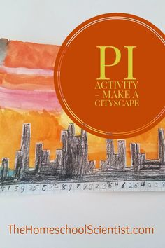 Creating a Pi cityscape is a fun pi activity. This is a fun way to incorporate memorizing the digits of pi and art. Just grab some graph paper and a pen Math For Kids, Fun Math, Math Games, Activities For Kids, Math Class, Teaching Subtraction, Circle Math, Homeschool Math, Homeschooling