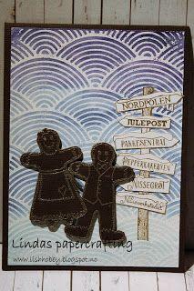 Lindas papercrafting: Julekort 2016 del 1 Paper Crafts, Cards, Tissue Paper Crafts, Paper Craft Work, Papercraft, Maps, Playing Cards, Paper Art And Craft, Paper Crafting