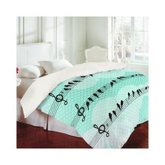 DENY Designs Home Accessories | Belle13 Musical Nature Duvet Cover ($169) via Polyvore
