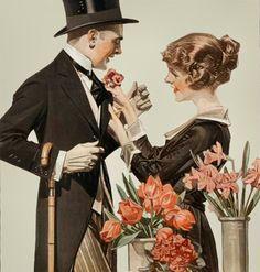 Artwork by J.C. Leyendecker