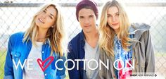 Home | Cotton On. Great site for cheap clothes/ accesories. And it's NOT WHOLESALE!