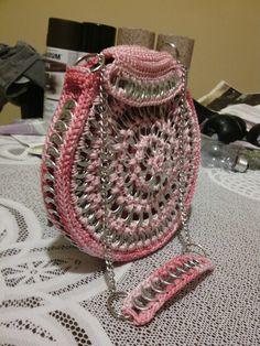 Childs' cotton candy purse