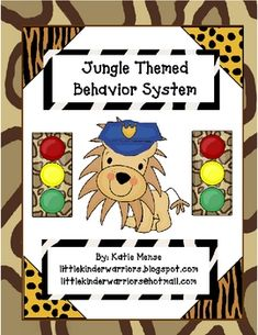 Use this stoplight system to manage behavior in your Jungle themed classroom!! Kingston, the classroom