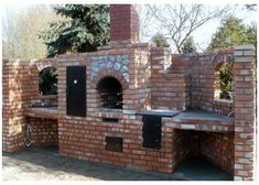 Grille ogrodowe, wędzarnie, piece chlebowe, piece do pizzy :: Grillbud Outdoor Oven, Outdoor Cooking, Outdoor Kitchens, Wood Fired Oven, Wood Fired Pizza, Barbecue Smoker, Grilling, Natural Gas Outdoor Fireplace, Build A Pizza Oven