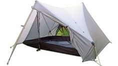 """StratoSpire 2, $349.00 - Specifications:  Sleeps: 2-3  Weight (ounces): 46  Height (inches): 50  Width (inches): 120  Length (inches): 97  Stakes: 6 x 8"""" (included)  Packed size (inches): 16 x 4"""
