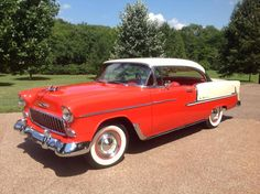 1955 Chevrolet Bel Air Coupe.