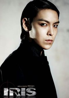 T.O.P, IRIS drama.  Plays the part of a stone hard killer with no remorse in IRIS.