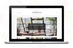 Roseland - A WP Blog theme by Sculpture Qode on @creativemarket // web design, design, graphics, graphic design, elegant themes, theme, creative, pretty, smart, love, monumentally notable, art, sleek, fun